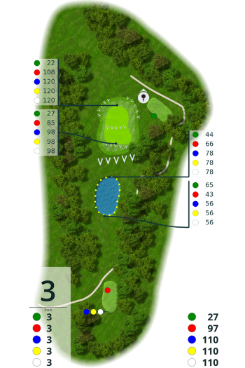 Golf-Club Altenhof e.V. Loch 3